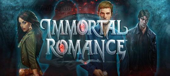 แนะนำ 10 อันดับเกมสล็อตที่แจ็คพอตแตกง่าย Immortal Romance