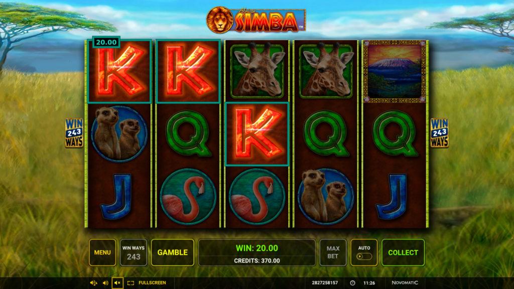 รวยด้วยเกมสล็อต African Simba